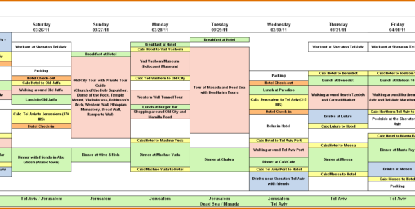 Travel Itinerary Spreadsheet With Create A Travel Itinerary Template 1  Hello Marathi