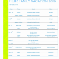 Travel Planning Spreadsheet Throughout Free Business Travel Itinerary Template Best Disney Trip Planning
