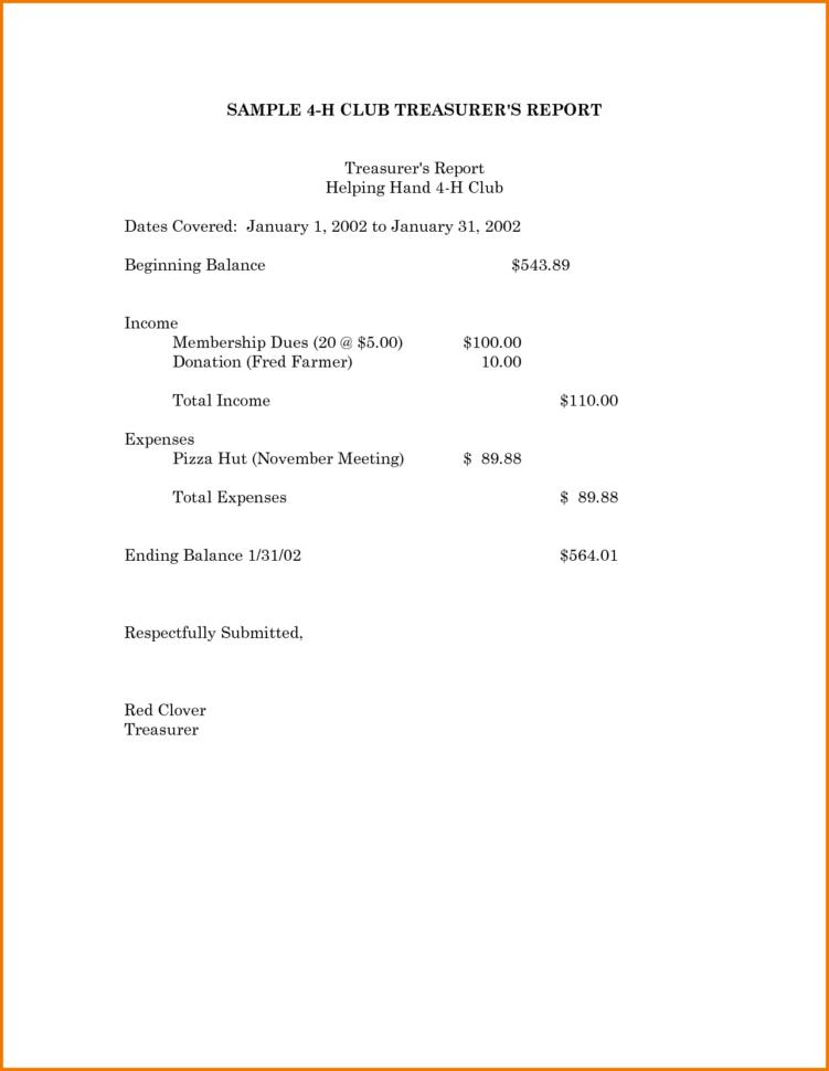 Treasurer's Report Excel Spreadsheet Within Expense Report Template Excel 2010 And 8 Treasurer S Report Template