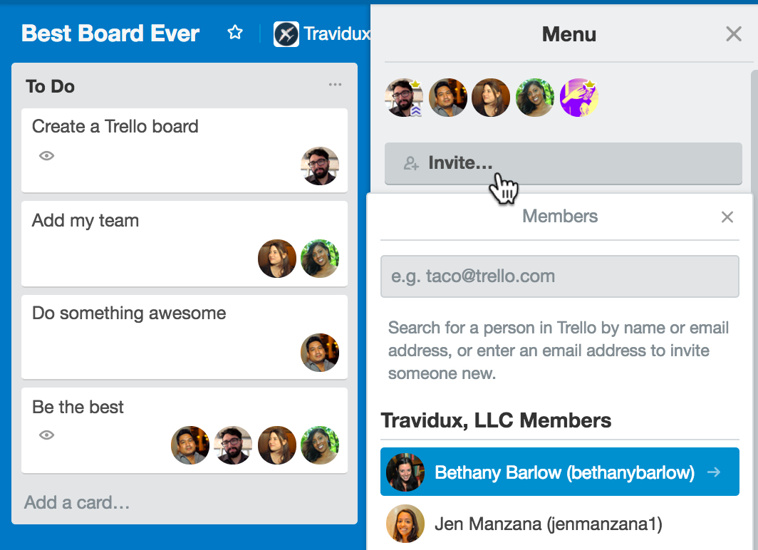 Trello Spreadsheet Inside Create A Board  Getting Started With Trello