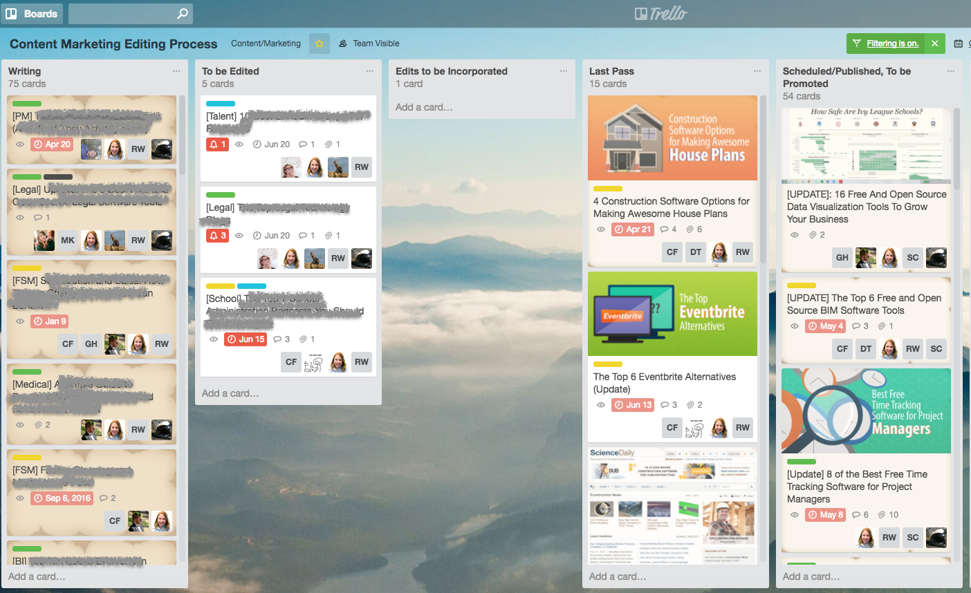trello spreadsheet with the 6 best trello alternatives for
