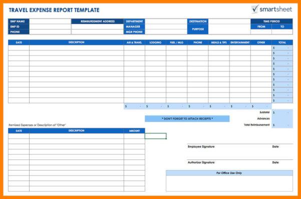 Trip Expenses Spreadsheet Inside 8  Travel Expense Spreadsheet  Managementoncall