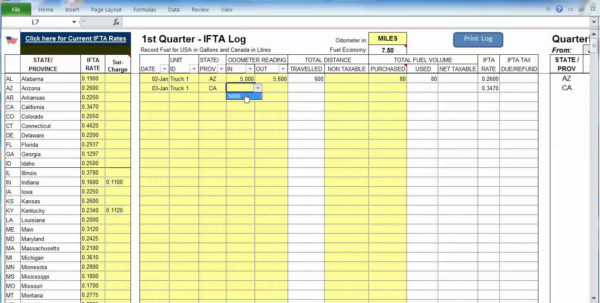 Truck Dispatch Spreadsheet Throughout Truck Dispatch Spreadsheet  Homebiz4U2Profit