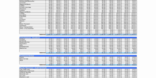 Trucking Income And Expense Spreadsheet Pertaining To Household Expenses Spreadsheet Trucking Income And Expense Elegant