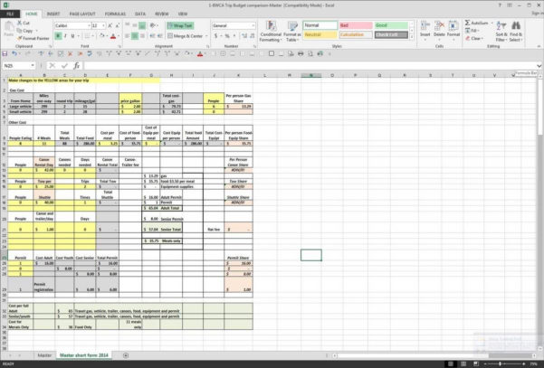 Trucking Spreadsheet Download In Truck Driver Expense List And Owner Operator Excel Expenses