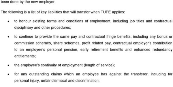 Tupe Due Diligence Spreadsheet Inside Tupe : The Transfer Of Undertakings Protection Of Employment