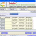 Turn My Excel Spreadsheet Into App Throughout Vcard Converter  Download