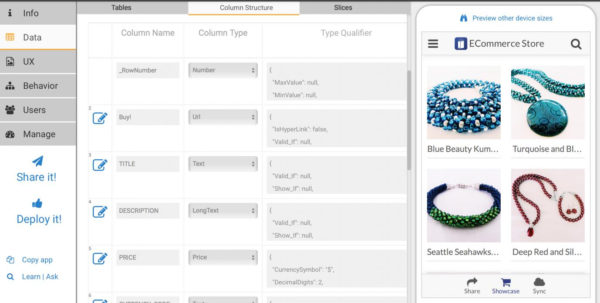 Turn Spreadsheet Into Web App With Convert Excel Spreadsheet Toeb Application Collections Into