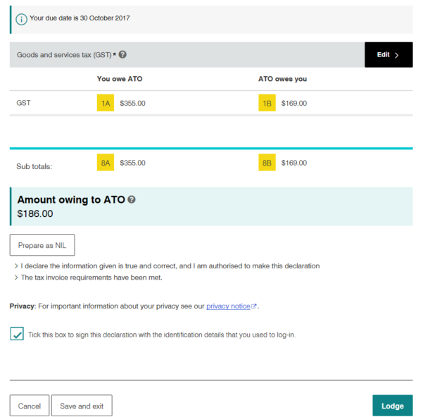 Uber Gst Spreadsheet In Uber Drivers: Submit Your Bas The Easy Way  Rideshare Guy