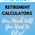 Ultimate Retirement Calculator Life Spreadsheet With Regard To The Best Retirement Calculators Online  Pt Money Ultimate Retirement Calculator Life Spreadsheet Google Spreadshee Google Spreadshee ultimate retirement calculator life spreadsheet