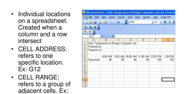 Understanding Spreadsheets Throughout Understanding Spreadsheets Used In Business  Ppt Download