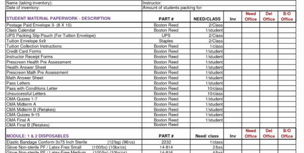 Uniform Inventory Spreadsheet Throughout Restaurant Inventory Spreadsheet Kitchen Equipment Free Xls Invoice