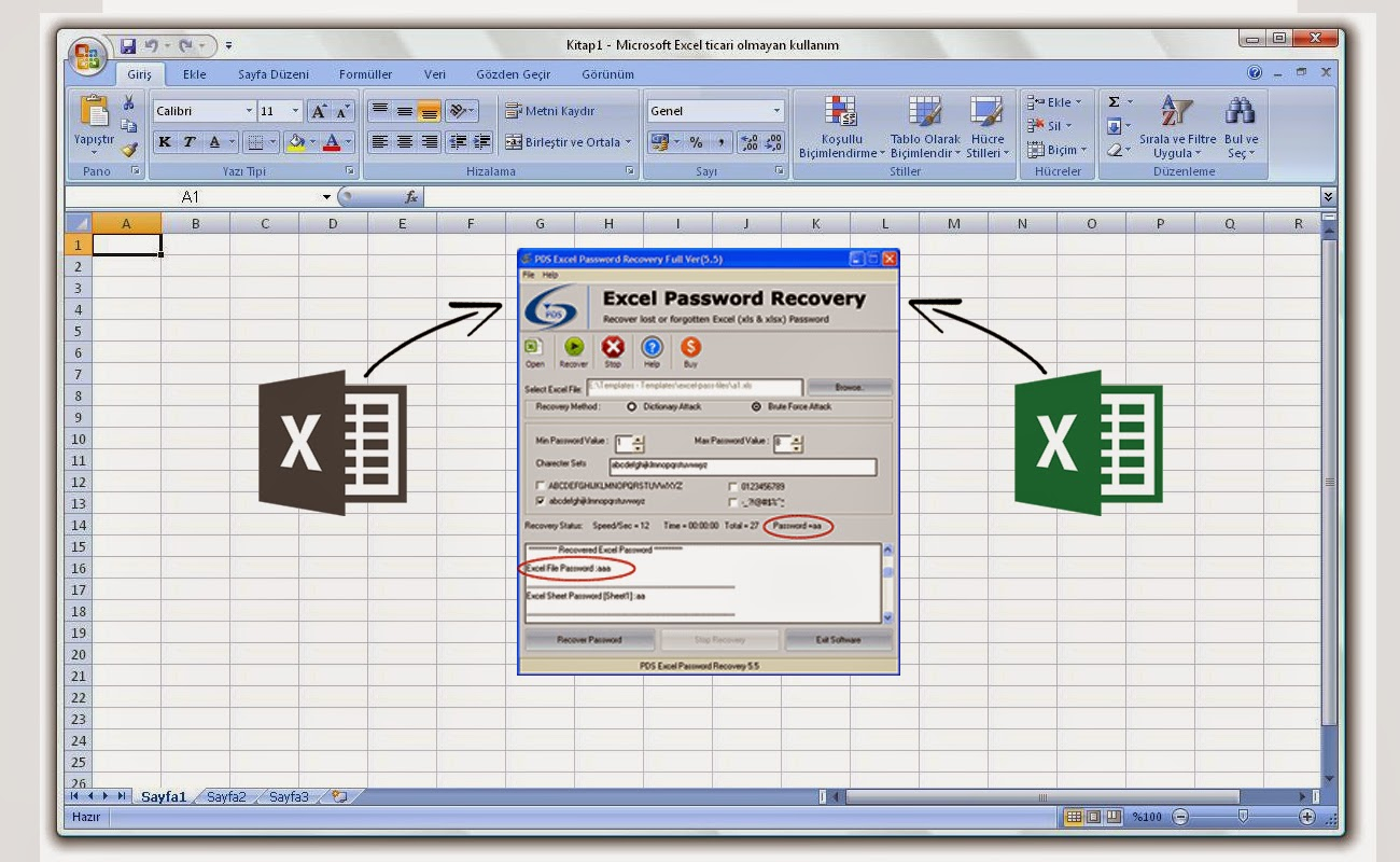 Unlock Excel Spreadsheet Online Regarding Recover Word 2007 Password