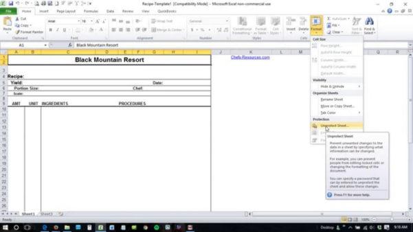 Unlock Spreadsheet With Unlock Password Protected Excel Spreadsheet  Spreadsheet Collections