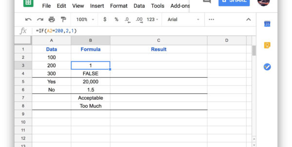 Untitled Spreadsheet Within How To Use Google Spreadsheet If Functions