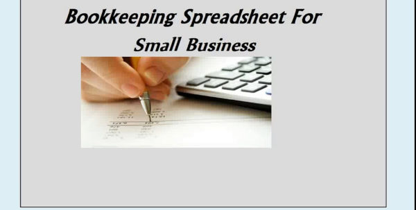 Up2Date Bookkeeping Spreadsheet In Easy Up2Date Bookkeeping Spreadsheet For Small Business  Video