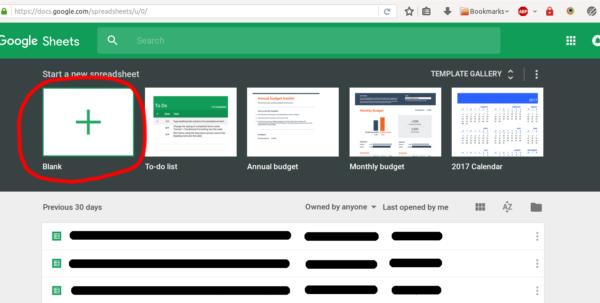 Use Google Spreadsheet As Database Inside Spreadsheet Tutorial  Server.js