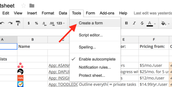 Use Google Spreadsheet As Database Intended For Google Forms Guide: Everything You Need To Make Great Forms For Free