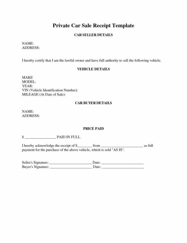 Used Car Dealer Spreadsheet In Car Dealer Bill Of Sale Template Used Word Canada Florida
