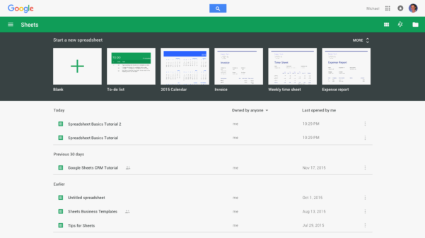 Uses Of Spreadsheet Pertaining To Google Sheets 101: The Beginner's Guide To Online Spreadsheets  The
