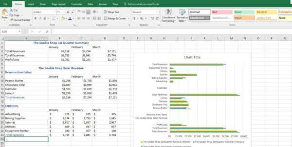 Uses Of Spreadsheet Software Throughout What Is Microsoft Excel And What Does It Do?