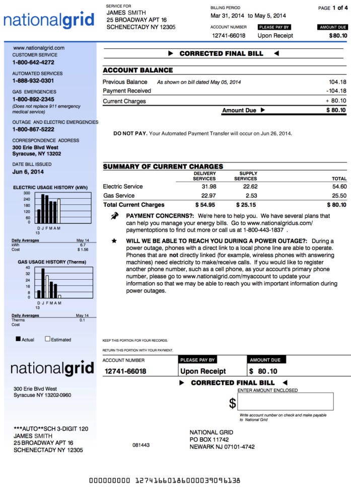 Utility Bill Analysis Spreadsheet Pertaining To Electric Bill Template Electrician Invoice Excel Electricity Sample
