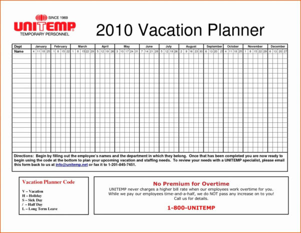 Vacation And Sick Time Tracking Spreadsheet For Sheet Vacation And Sick Time Tracking Spreadsheet Leave Accrual