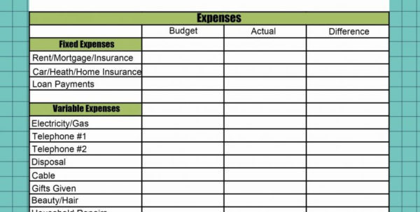 Vacation Rental Investment Spreadsheet For Property Expenses Spreadsheet Rental Template Investment Invoice
