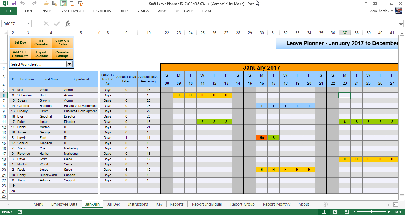 Vacation Spreadsheet Template 2018 Inside Staff Annual Leave Calendar Template Canre Klonec Co Employee