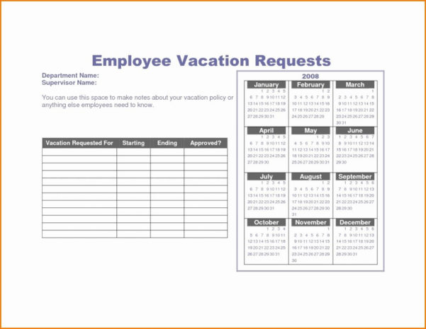 Vacation Spreadsheet Template With Vacation Tracking Spreadsheet Free Template Employee Tracker Day
