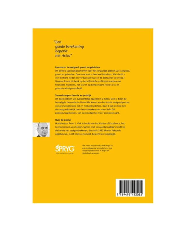 Vastgoedrekenen Met Spreadsheets Within Bol  Investeren In Vastgoed, Grond En Gebieden  9789492453082