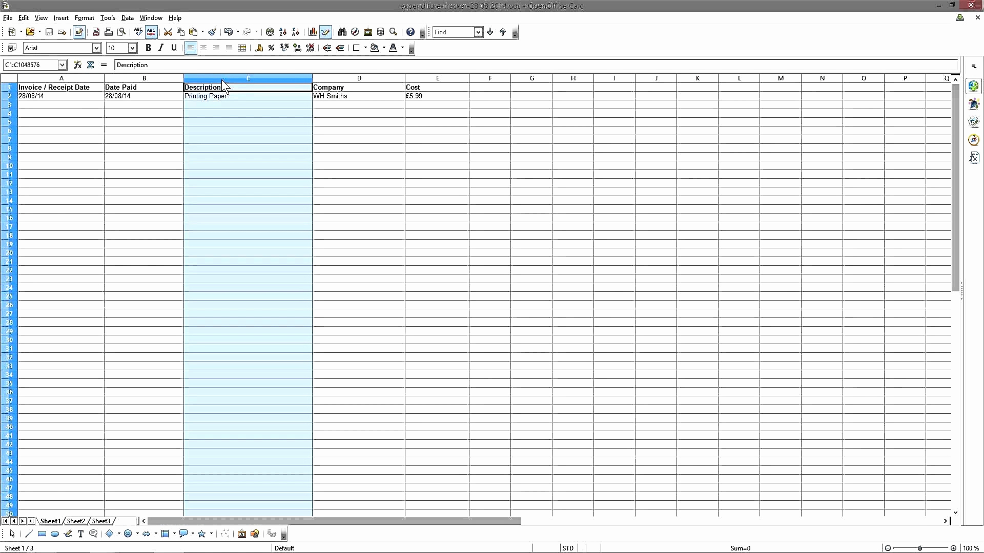 Vat Records Spreadsheet Throughout Invoice Record Keeping Template Create A Bookkeeping Spreadsheet