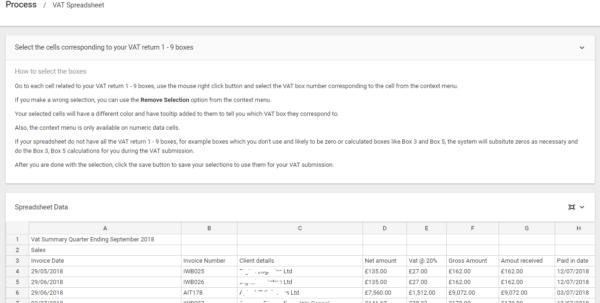 Vat Return Spreadsheet For Making Tax Digital  Excel Spreadsheet Bridging
