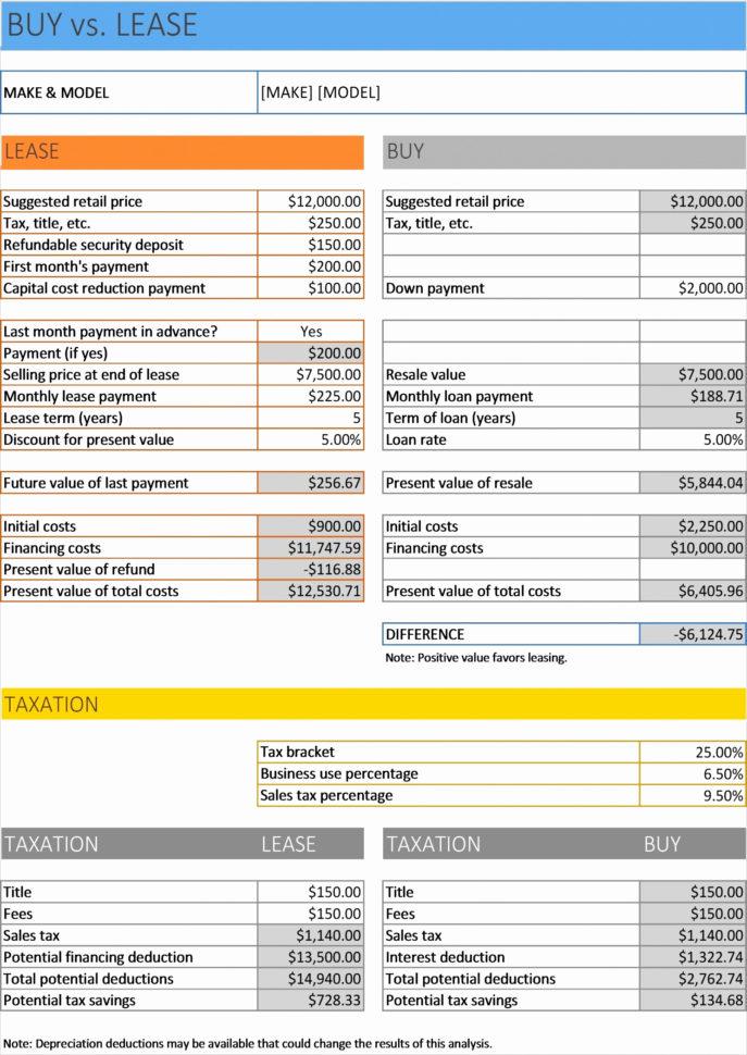 Vehicle Comparison Spreadsheet Inside New Car Comparison Spreadsheet Sample Worksheets