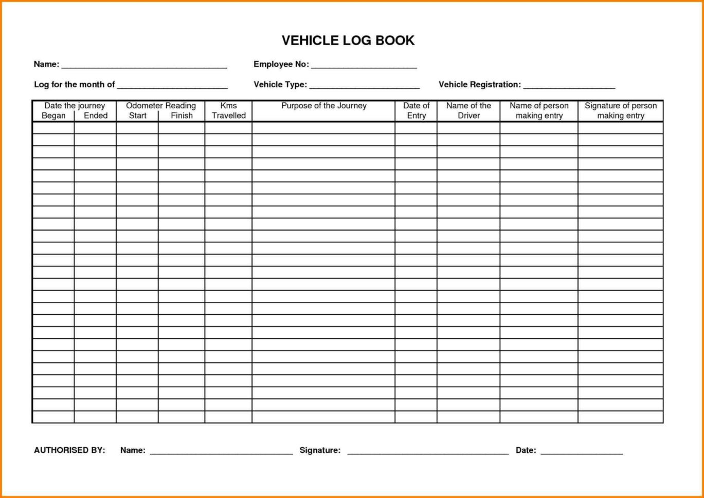 Vehicle Fuel Log Spreadsheet Throughout Vehicle Fuel Log Book Template Archives  Parttime Jobs