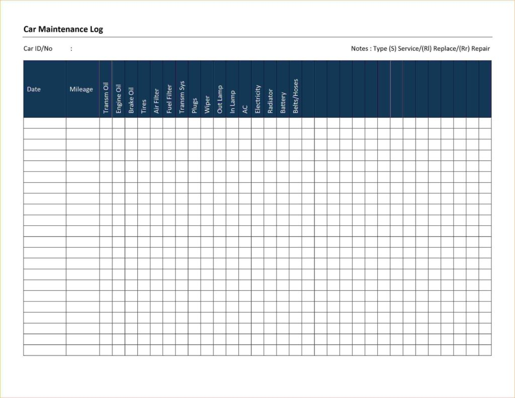 Vehicle Maintenance Spreadsheet With Regard To Fleet Maintenance Spreadsheet And Fleet Vehicle Maintenance Log