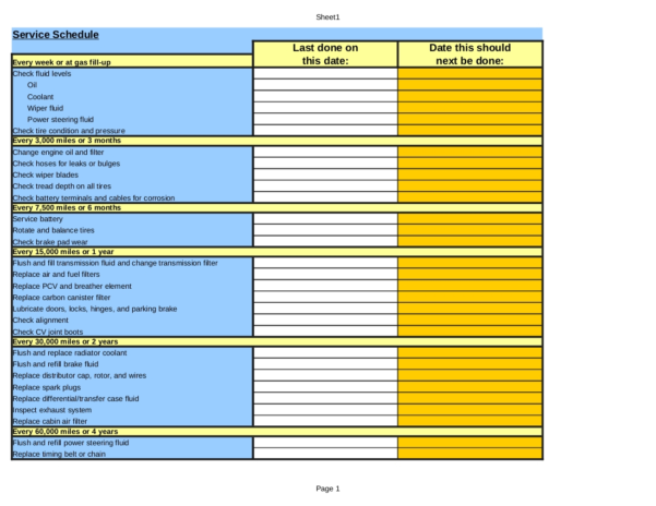 Vehicle Maintenance Tracking Spreadsheet Regarding Example Of Maintenance Tracking Spreadsheet Equipment Log Preview