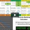 Velocity Banking Spreadsheet With Regard To Velocity Banking Calculator Demo On Vimeo