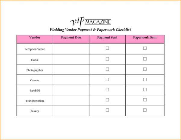 Vendor Spreadsheet With Regard To Blood Sugar Spreadsheet And 8 Wedding Vendor List Wedding
