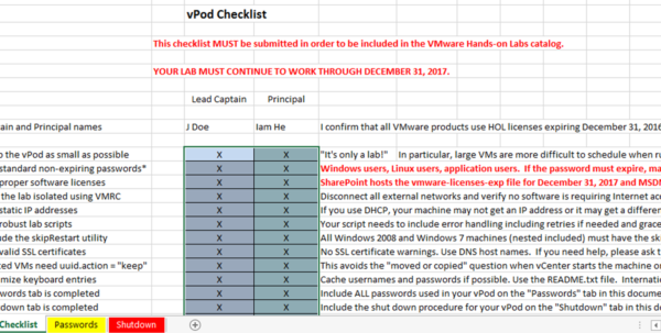 Vmware Capacity Planning Spreadsheet Inside Vmware Handson Labs  Hollabdevelopmentguide