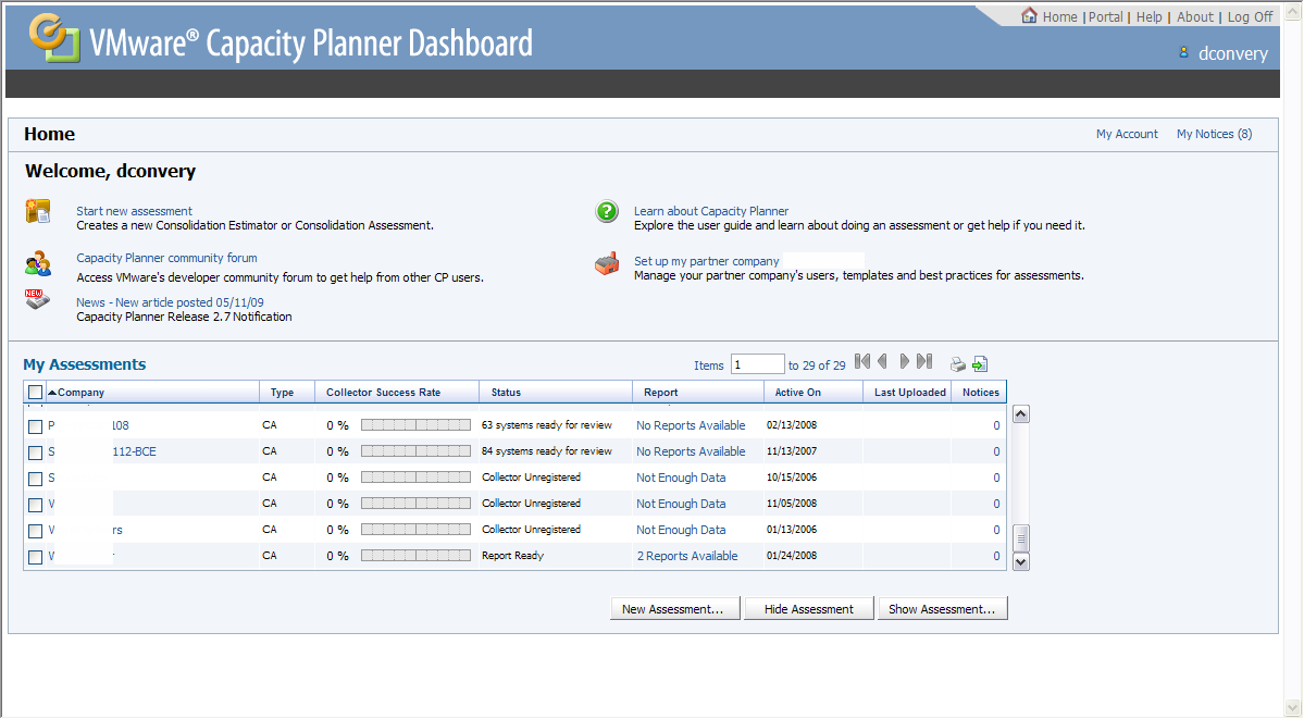 Vmware Capacity Planning Spreadsheet With Vmware Capacity Planner 2.7 – Lipstick On A Pig  Techtap
