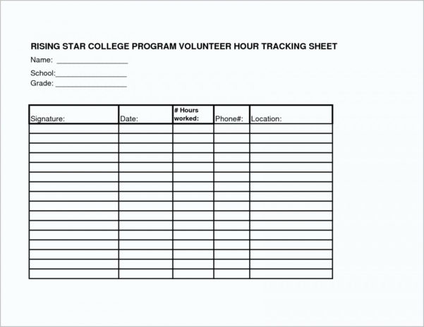 Volunteer Tracking Spreadsheet Intended For 004 Volunteer Hours Log Template Sheet 579603 ~ Ulyssesroom