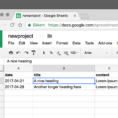 Vue Spreadsheet throughout Use Data From Google Drive In Static Websites