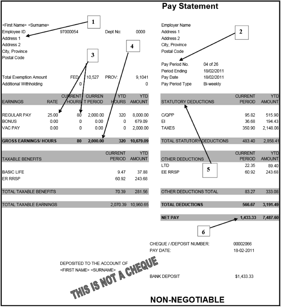 Wages Book Spreadsheet Regarding Canadian Pay Statement Template Payment Excel Uk Canada Teachers