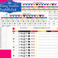 Walt Disney World Planning Spreadsheet Intended For Walt Disney World Planning Spreadsheet  Aljererlotgd