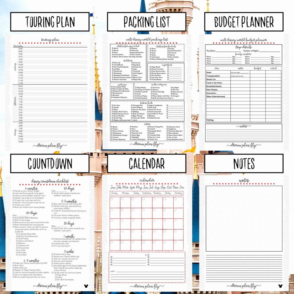 Walt Disney World Planning Spreadsheet With Walt Disney World Planning Spreadsheet  Spreadsheet Collections