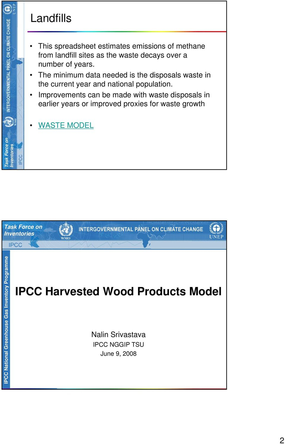 Waste Inventory Spreadsheet Within Inventories Intergovernmental Panel On Climate Change. Ipcc Emission