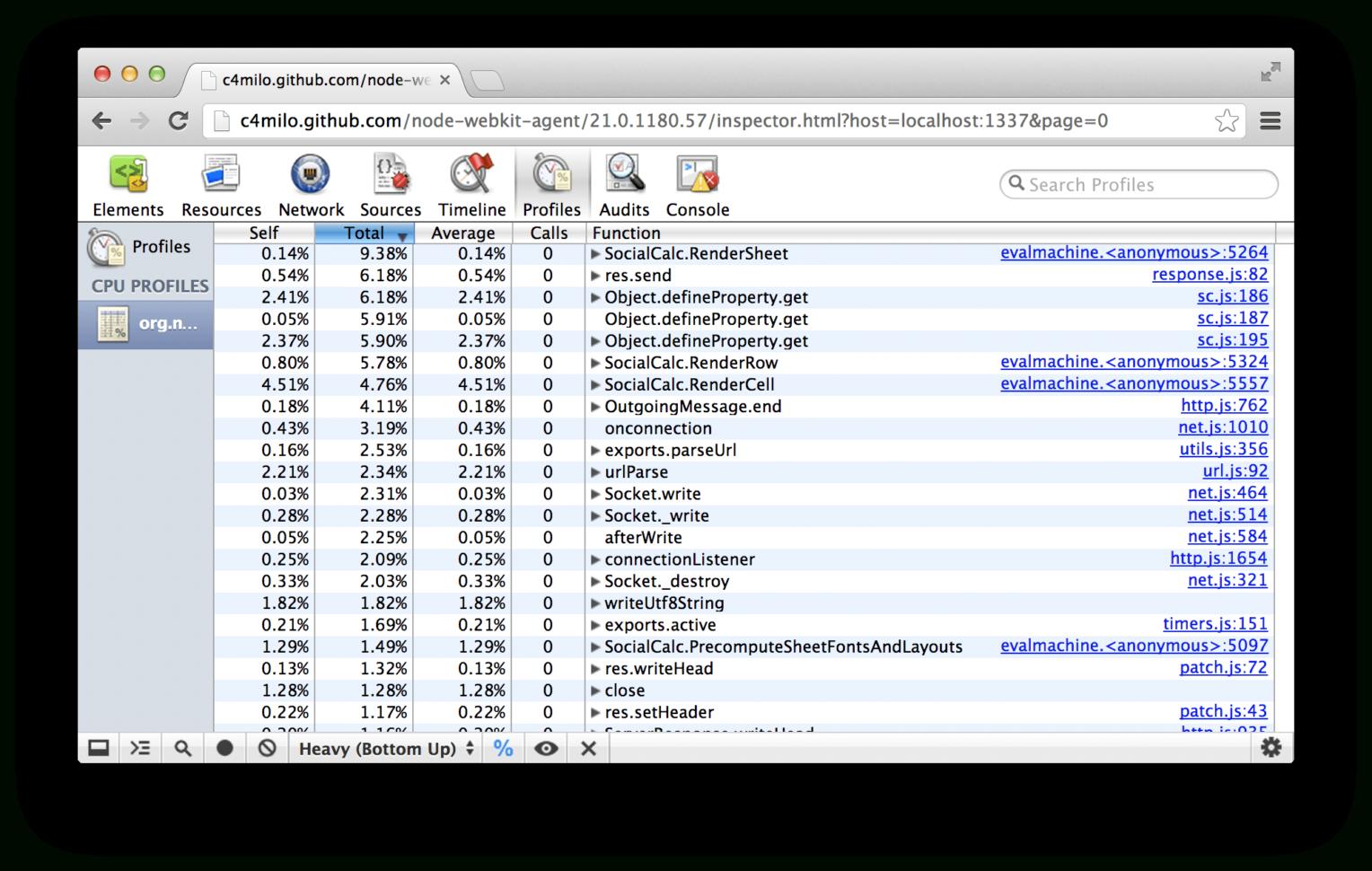 Web Based Spreadsheet Regarding Ethercalc