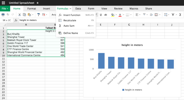 Web Based Spreadsheet Regarding From Visicalc To Google Sheets: The 12 Best Spreadsheet Apps