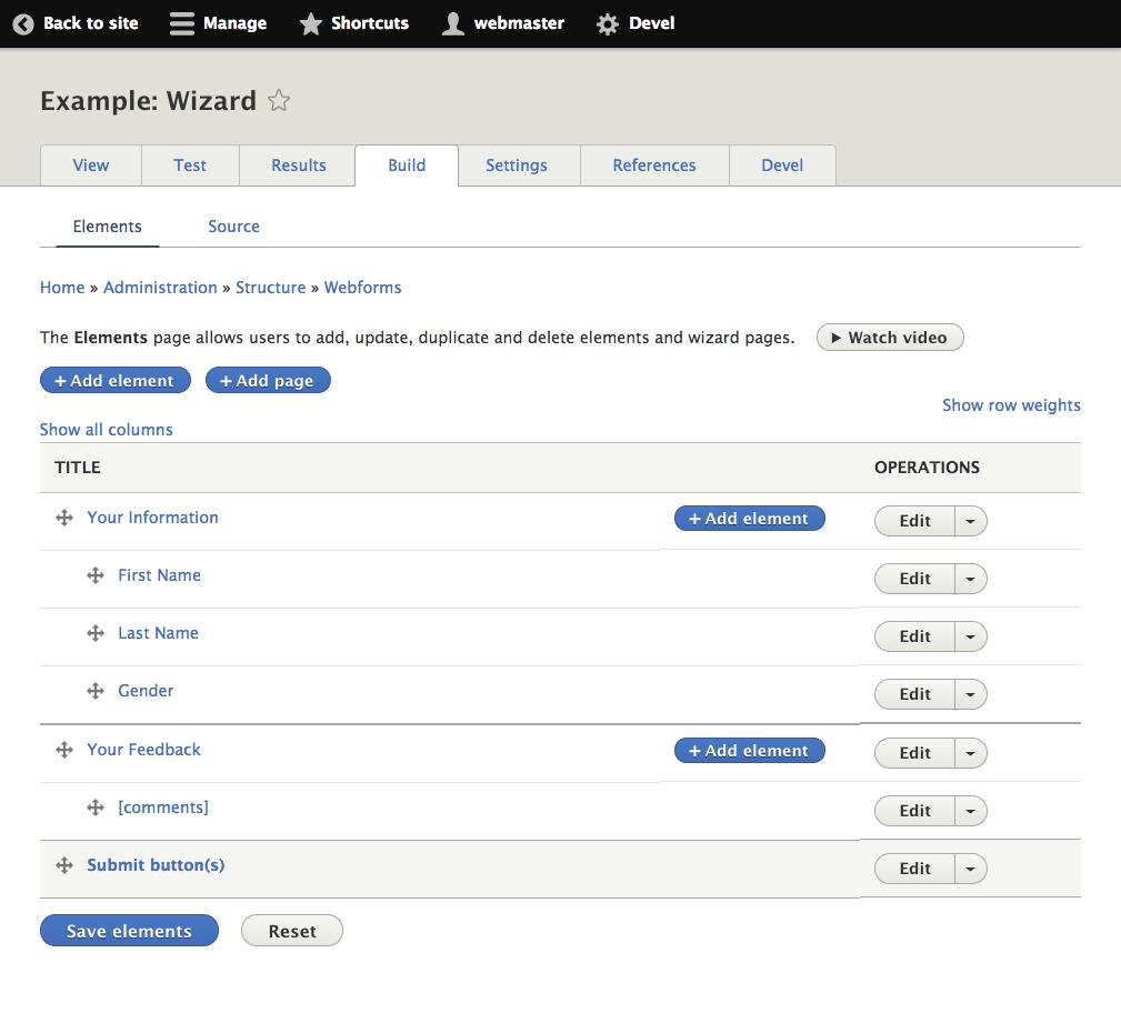 Web Form To Excel Spreadsheet Intended For Webform  Drupal Online Training Classes From Drupaltutor